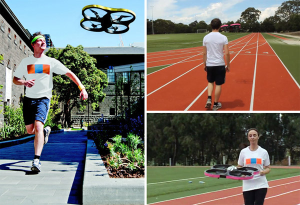 joggobot quadrocopter