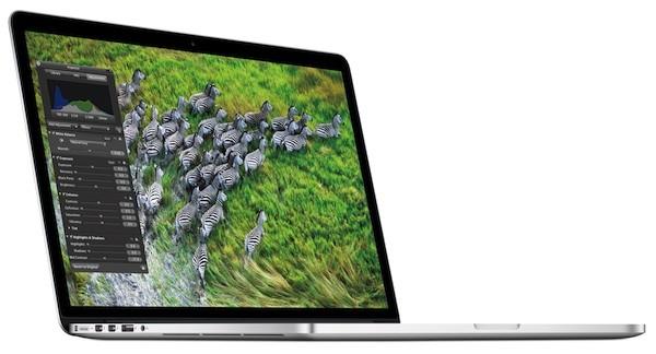 Macbook Pro punta tutto sullo schermo Retina Display