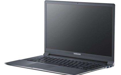 Samsung Serie 9, sottilissimo notebook che si accende in 9.8 secondi [FOTO e VIDEO]