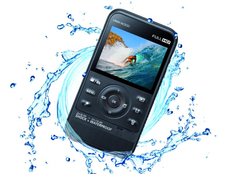 Samsung W300 e W350 videocamere waterproof per l'estate [FOTO]