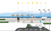 La spiaggia hitech: totem interattivi, ombrelloni solari e Wi-Fi