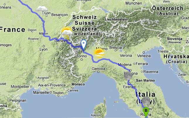 Google Maps: mashup per pianificare il viaggio a seconda del meteo previsto