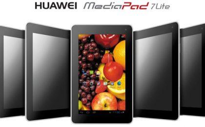 Huawei MediaPad 7 Lite: connessione 3G per combattere Nexus 7