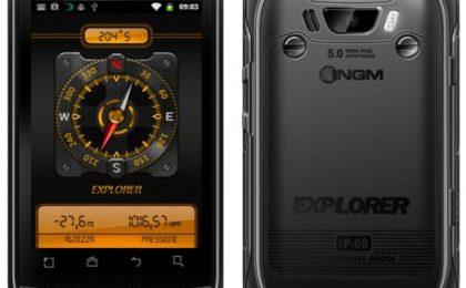 NGM Explorer: Android dual sim indistruttibile da campeggio