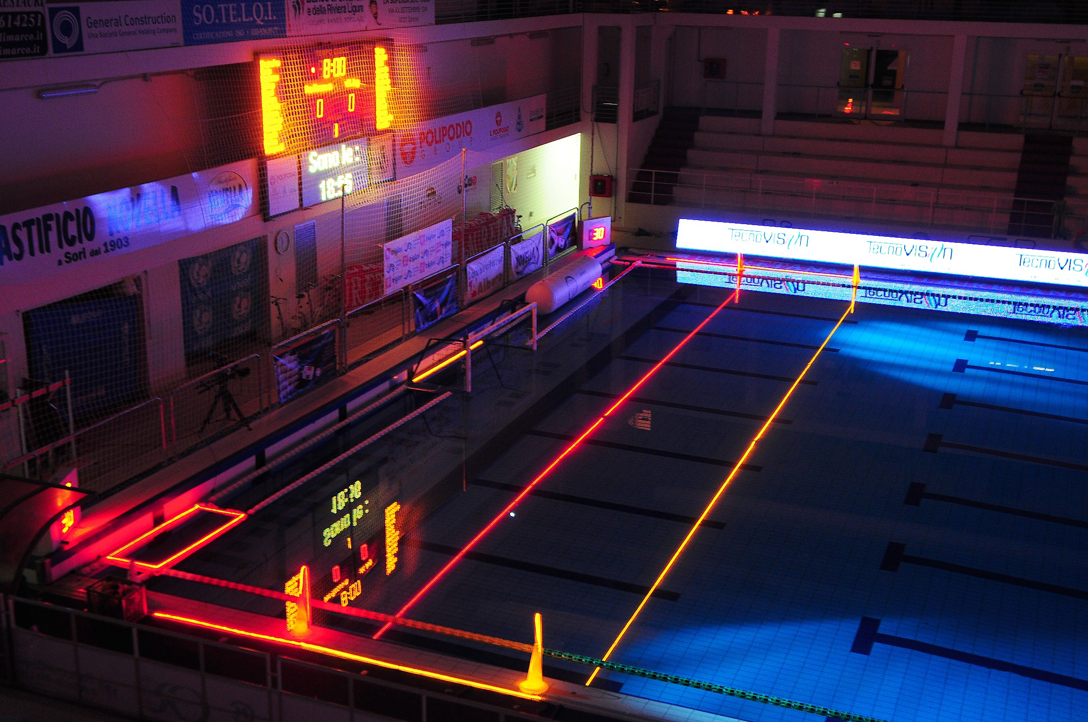 Olimpiadi 2012 Londra: wifi e led in piscina per monitorare i nuotatori [VIDEO]