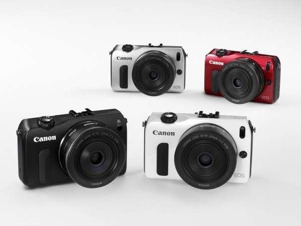 Canon EOS M: fotocamera mirrorless con touchscreen [FOTO]