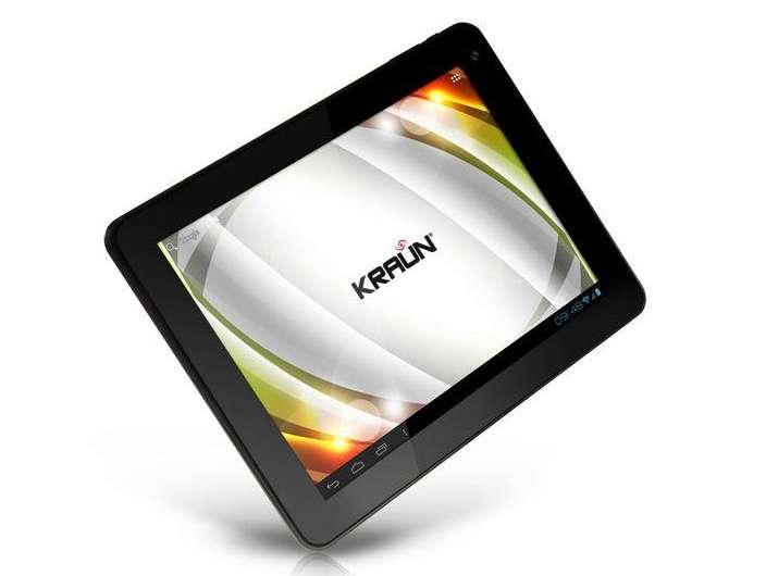 Kraun Ktab: tablet Android 4 ICS italiano a 199 euro