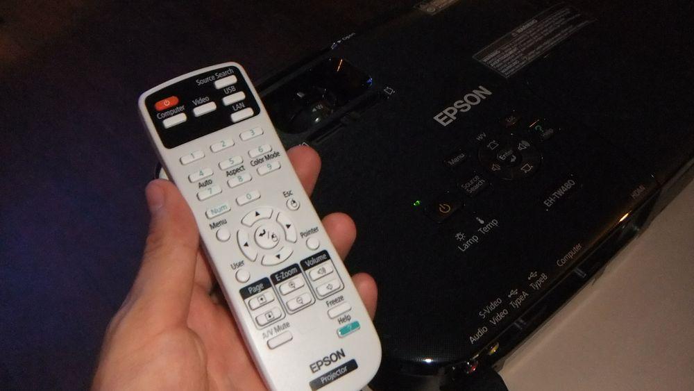 Epson EH TW480 telecomando