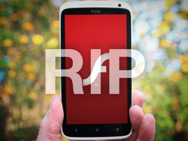 Adobe Flash per Android addio: cancellata l'app da Google Play