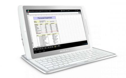 Archos Gen10 XS: tablet Android sottiletta con tastiera/cover [FOTO]