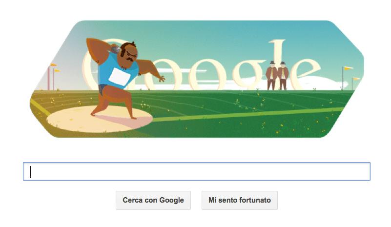 getto peso google doodle olimpiadi 2012 londra