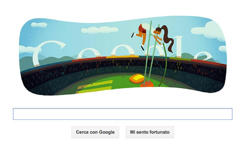 google doodle olimpiadi 2012 salto asta