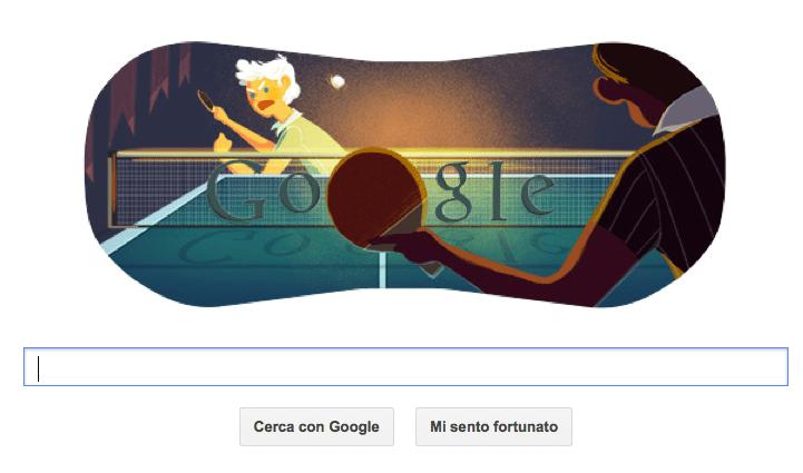 google doodle tennis tavolo olimpiadi 2012