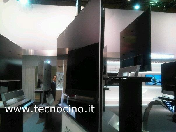 IFA 2012: 55 pollici di TV LG OLED in 4 mm [ANTEPRIMA FOTO e VIDEO]