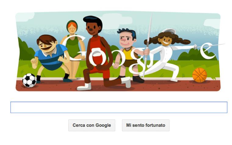 olimpiadi 2012 londra google doodle