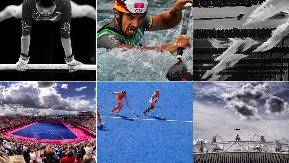 Olimpiadi 2012 Londra viste con l'iPhone [FOTO]
