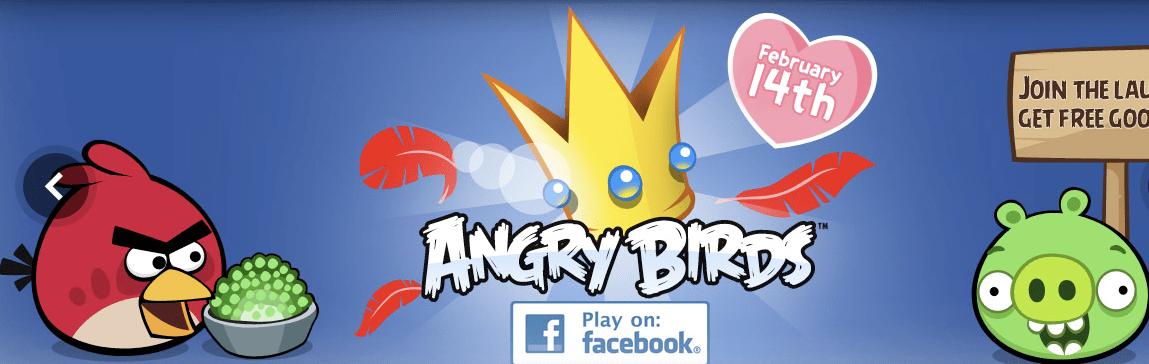 angry birds facebook gioco