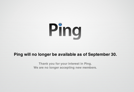 Apple chiude Ping, il social network nato morto