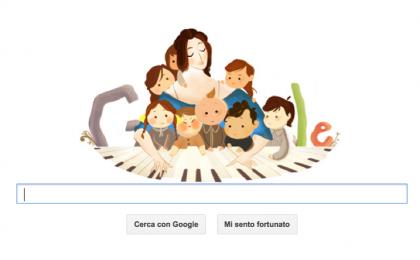 Google Doodle per Clara Schumann, pianista dell'era romantica [FOTO]