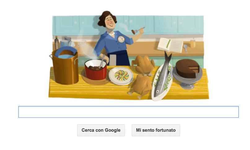 google doodle julia child
