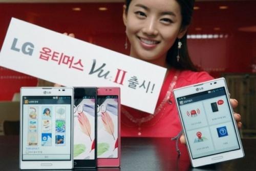 LG Optimus Vu 2: ufficiale l'anti Galaxy Note 2 [FOTO]
