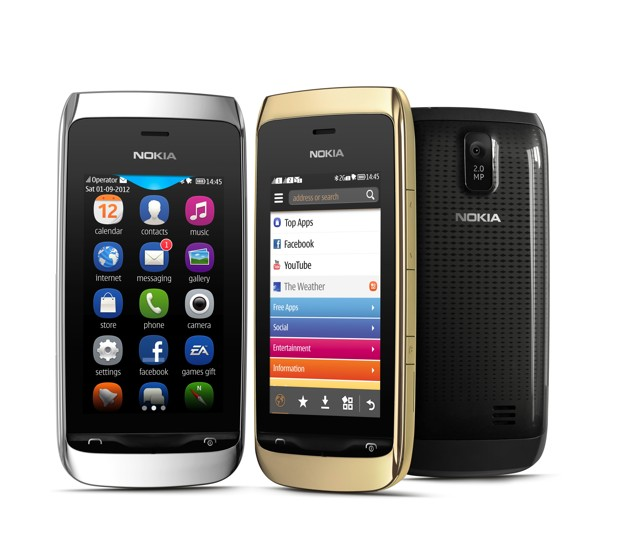 Nokia Asha 309: dual sim touch a 100 euro [FOTO]