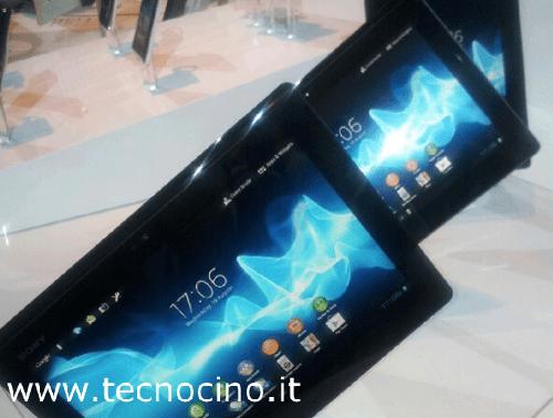 Sony Xperia Tablet S: prezzo di 399€, la scheda tecnica [FOTO e VIDEO]