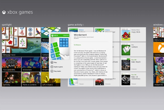 Windows 8: 40 giochi Xbox pronti per il debutto [FOTO]
