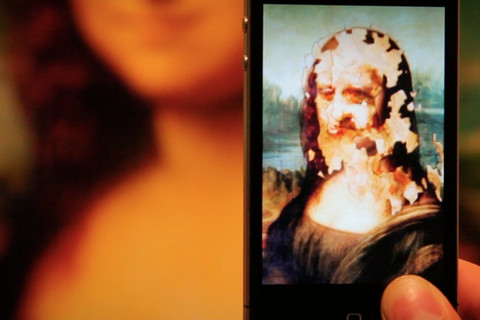 La Gioconda prende vita con l'app iPhone ARart [VIDEO]