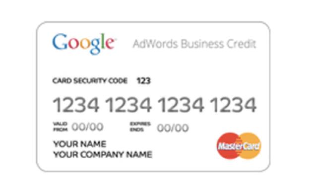 Carta di Credito di Google per gli inserzionisti online
