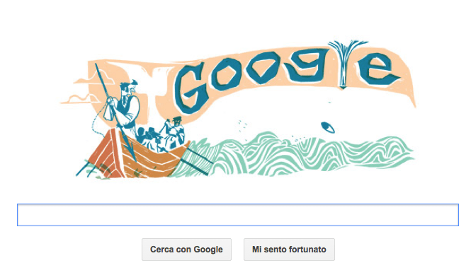 Google Doodle per Moby Dick a 161 anni dall'uscita