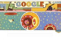 Google Doodle per Winsor McCay con il fumetto di Little Nemo