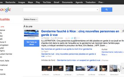 Google contro la Francia: pronto il boicotaggio ai media transalpini
