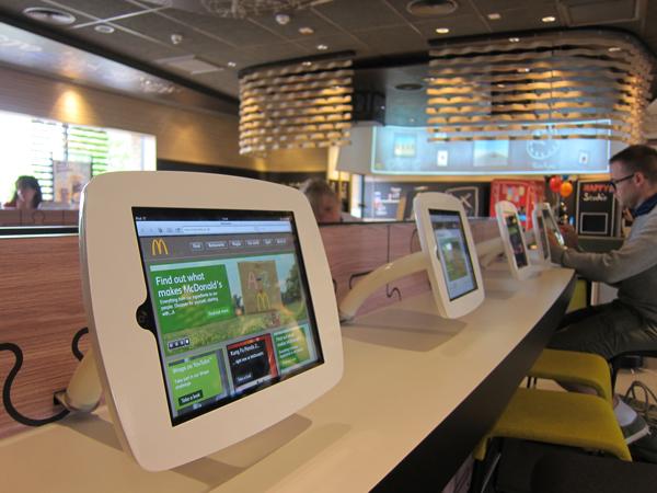 iPad per i clienti di McDonald's in Virginia