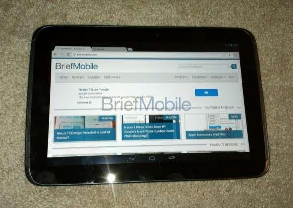 Nexus 10 scheda tecnica in anteprima [FOTO]
