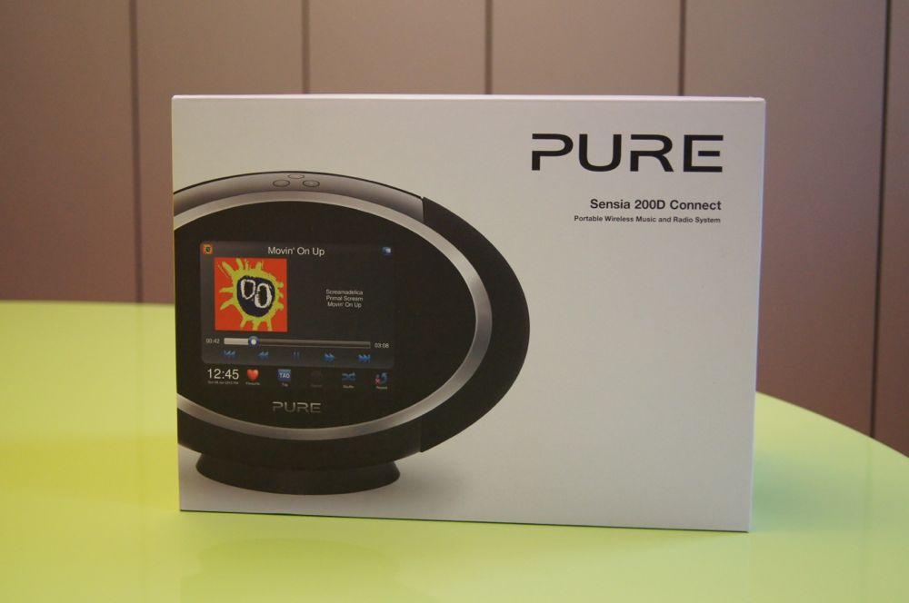 Pure Sensia 200D scatola