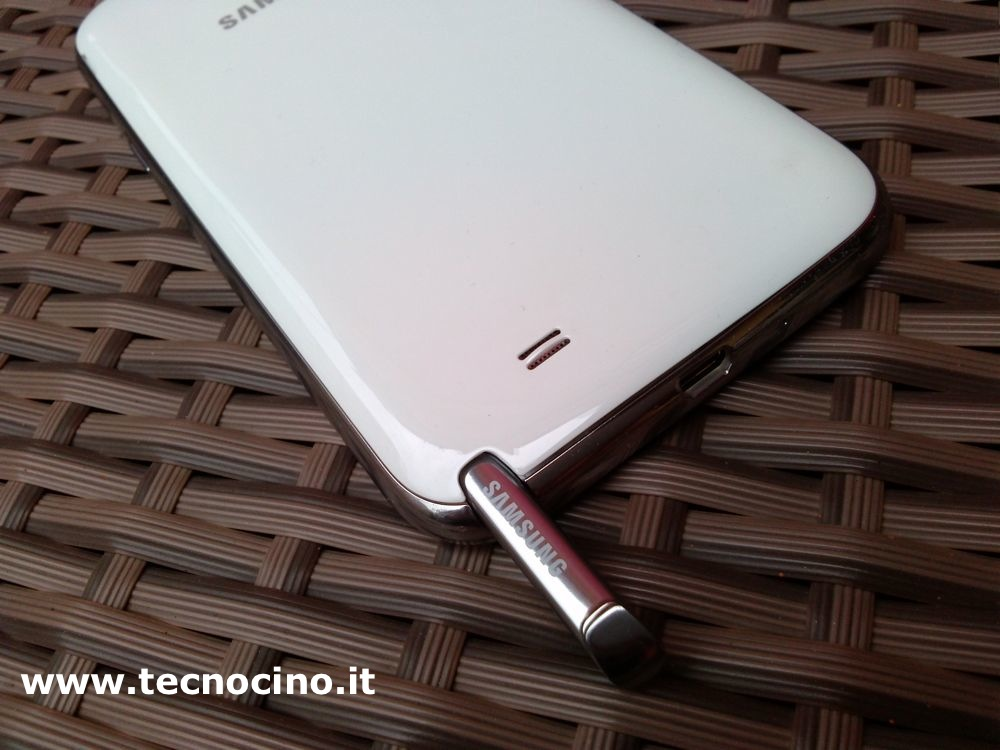 samsung galaxy note 2 alloggiamento s pen