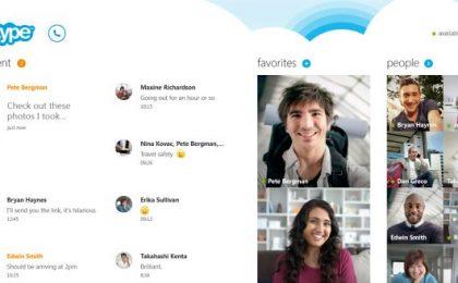 Skype per Windows 8 pre-installato in ogni PC o tablet [VIDEO]