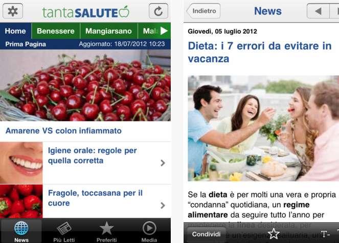 TantaSalute per iPhone: l'app per il benessere [FOTO]