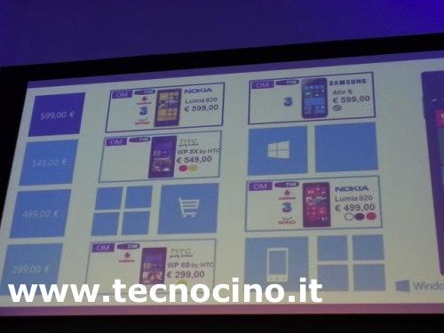 windows phone 8 smartphone modelli prezzi