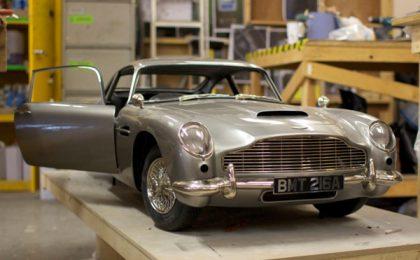 Skyfall: Aston Martin DB 5 del '60 di 007 ri-stampata in 3D