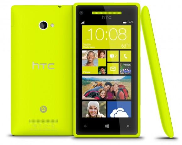 Idee regalo Natale 2012: HTC 8X, la belva con WP8 [FOTO]