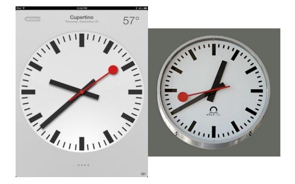 Apple copia l'orologio delle Ferrovie Svizzere e versa 17 milioni