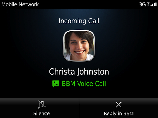 BBM Voice: chiamate gratis con Blackberry via Wi-Fi