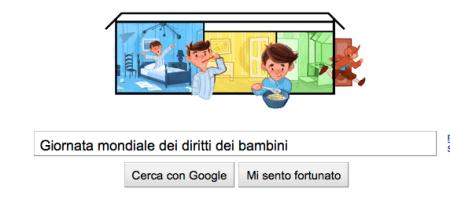 giornata mondiale diritti dei bambini google