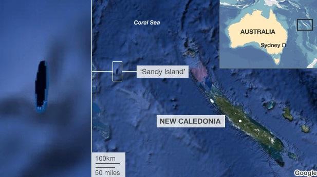 Google Earth e l'isola che non c'è