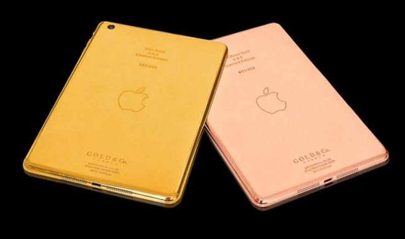 iPad Mini d'oro: il tablet da 2700 euro