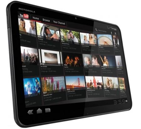 motorola xoom android honeycomb tablet