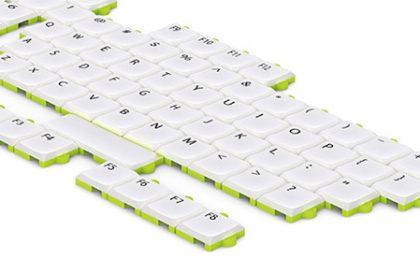 Tastiera puzzle per la massima personalizzazione [FOTO]