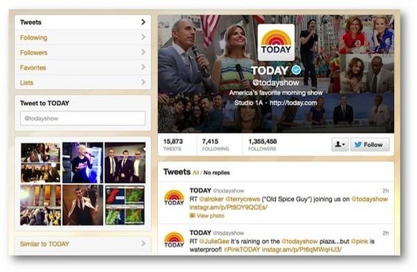 Twitter vs Instagram: filtri alle foto in arrivo